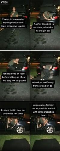 Tips menyelamatkan diri dalam situasi bahaya.