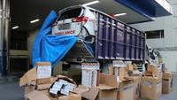 Bea Cukai Pergoki Truk Angkut Ambulans Rusak Diisi Rokok Ilegal