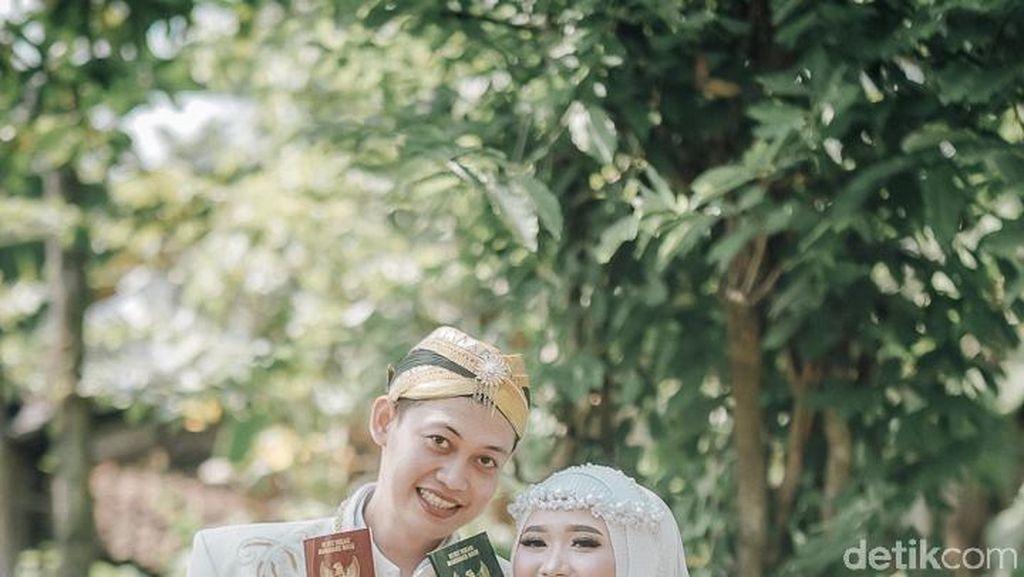 Viral Pernikahan Tanpa Dekorasi Efek PPKM, Ini Cerita di Baliknya
