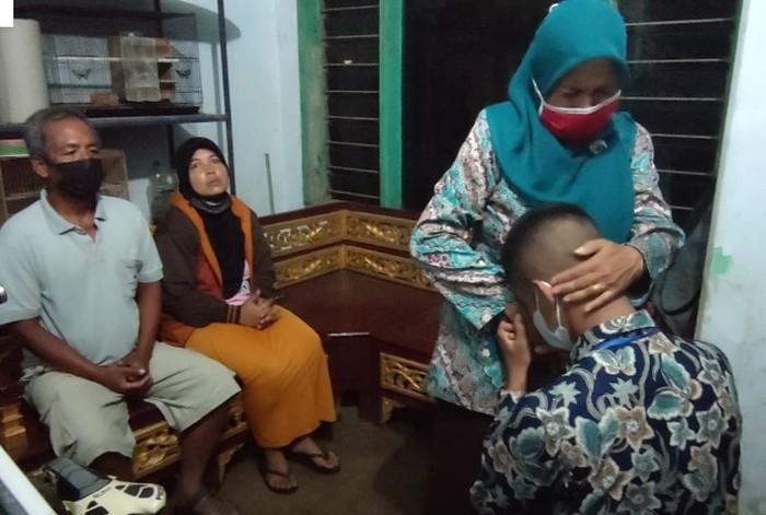 Zahidhan Syahrul, Anak Buruh Tani Lulus Seleksi Bintara Polri 2021