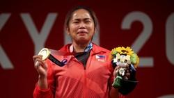 Ekspresi Haru Penyumbang Medali Emas Pertama untuk Filipina
