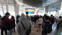 Ada Cek STRP, Antrean Calon Penumpang KRL di Stasiun Bogor Mengular Pagi Ini