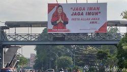 Satu Pelaku Vandalisme Baliho Puan Maharani di Surabaya Ditangkap