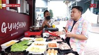 Bikin Laper! Ncess Nabati Puas Makan BBQ Daging Buatan Food Truck