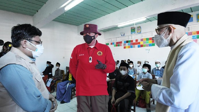BIN sebar 15 Ribu vaksin COVID-19 khusus santri ponpes-pelajar umum di 7 provinsi (dok BIN)
