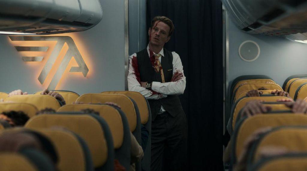 Blood Red Sky, Ada Vampir di Pesawat