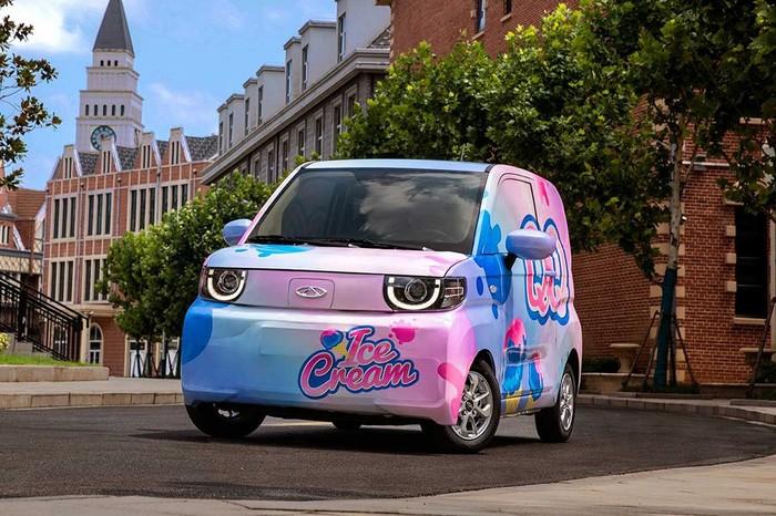 Chery QQ Ice Cream, Pesaing Mobil Listrik Rp 60 Jutaan Wuling Hongguang Mini EV