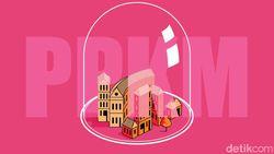Daftar Lengkap Daerah PPKM Level 4, Level 3 dan Level 2 Seluruh Indonesia