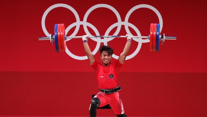 Deni lifter Olimpiade 2020 Tokyo