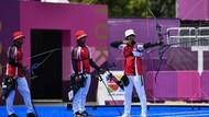 Dikalahkan Inggris, Tim Panahan Beregu Putra RI Gagal Rebut Medali