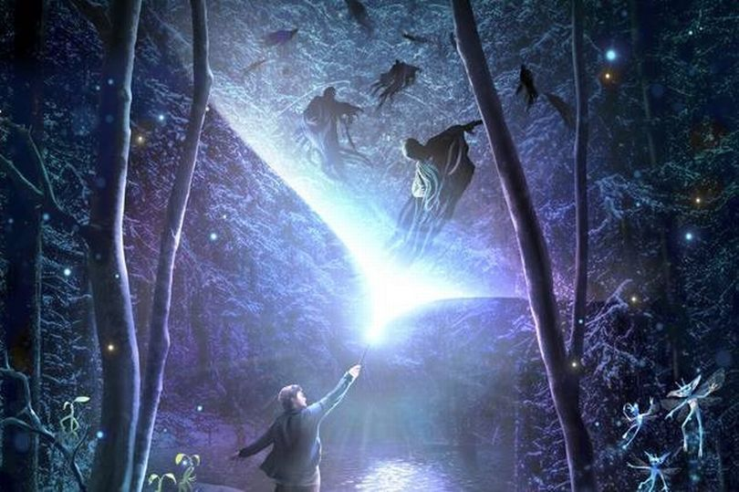 Hutan Terlarang Harry Potter