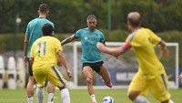 Inter Milan Bantai Tim Serie C 8-0 dalam Latih Tanding