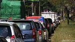 Kemacetan di Sukoharjo Imbas Penyekatan Jalan PPKM