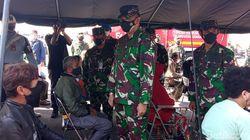 Perangi Corona, TNI AU Gelar Serbuan Vaksinasi di Lanud Husein Sastranegara