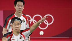 Hasil Bulutangkis Olimpiade 2020: Menang, Kevin/Marcus ke Perempatfinal