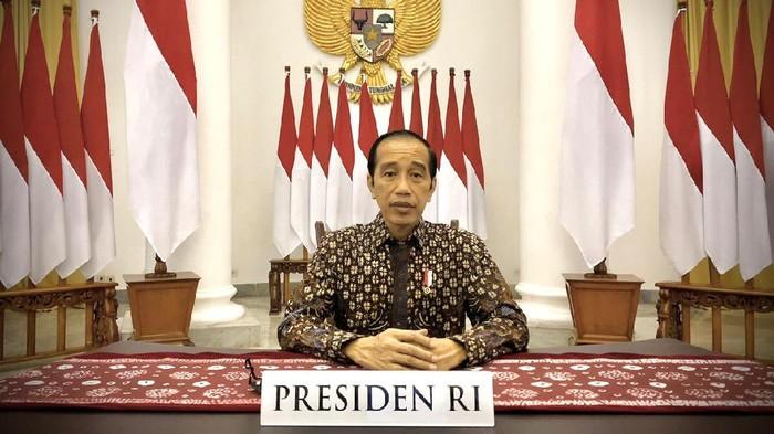 Menyimak Lagi Pidato Presiden tentang PPKM Level 4 Diperpanjang