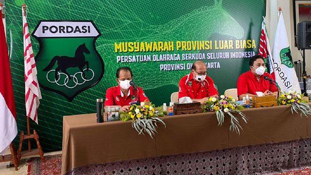 Pordasi DKI Jakarta memilih Aryo Djojohadikusumo sebagai ketua baru periode 2021-2023