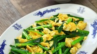 Resep Orak-arik Telur Kucai yang Praktis dan Sedap