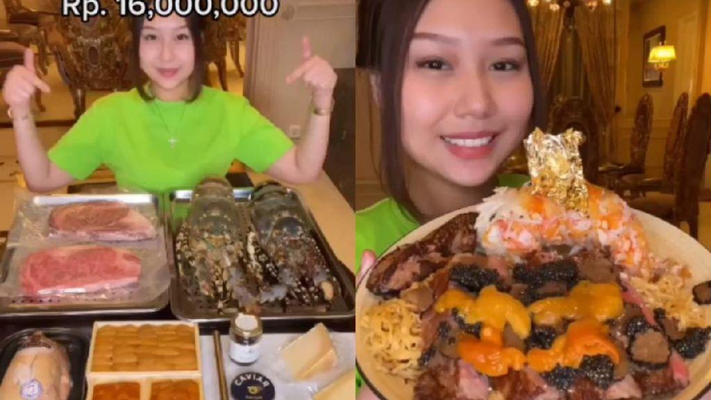 Sisca Kohl Bikin Indomie Rp 16 Juta Pakai Topping Wagyu A5 hingga Caviar