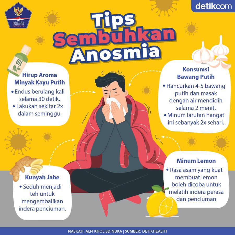 Tips Sembuhkan Anosmia