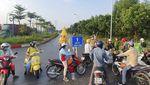 Potret Ibu Kota Hanoi Saat Berlakukan Lockdown