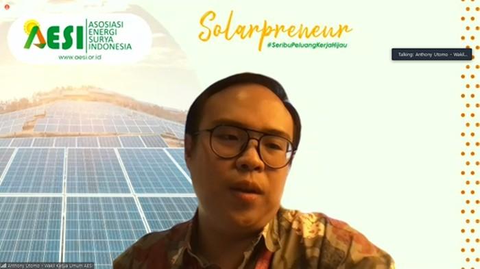 Wakil Ketua Umum Asosiasi Energi Surya Indonesia (AESI), Anthony Utomo