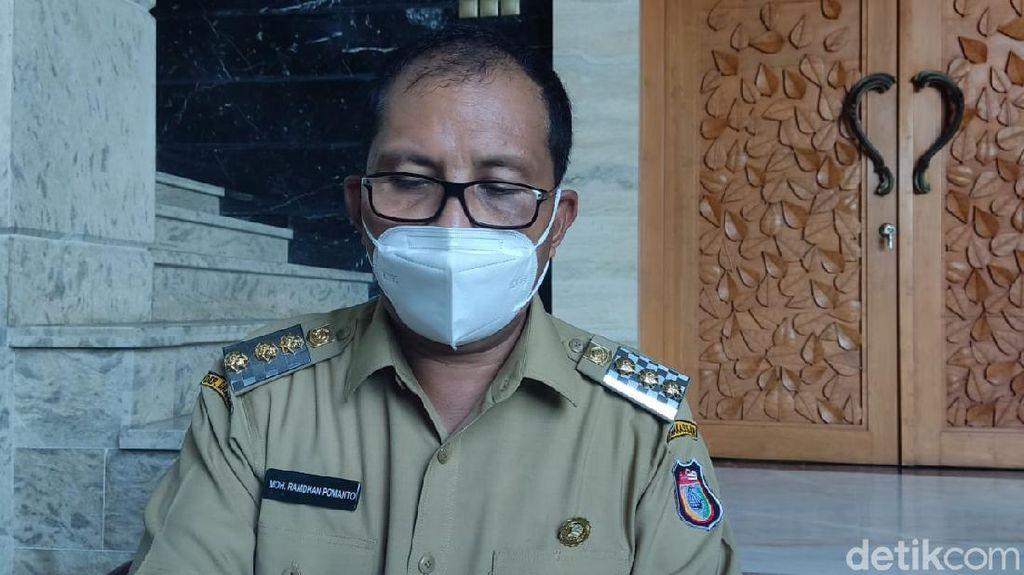 PPKM Level 4 Makassar, Pelaku Perjalanan Diperiksa Kartu Vaksin-Tes PCR