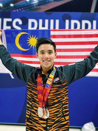 Atlet renang asal Malaysia Welson Sim.