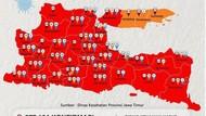Perpanjangan PPKM Level 4, 33 Kabupaten/Kota di Jatim Masih Zona Merah