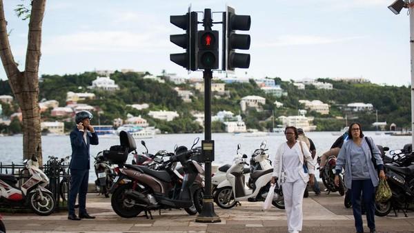 Sukses Duffy itu membuat Bermuda mencatatkan rekor sebagai negara dengan populasi terkecil peraih emas Olimpiade. Jumlah penduduknya cuma 62.278 orang. Drew Angerer/Getty Images