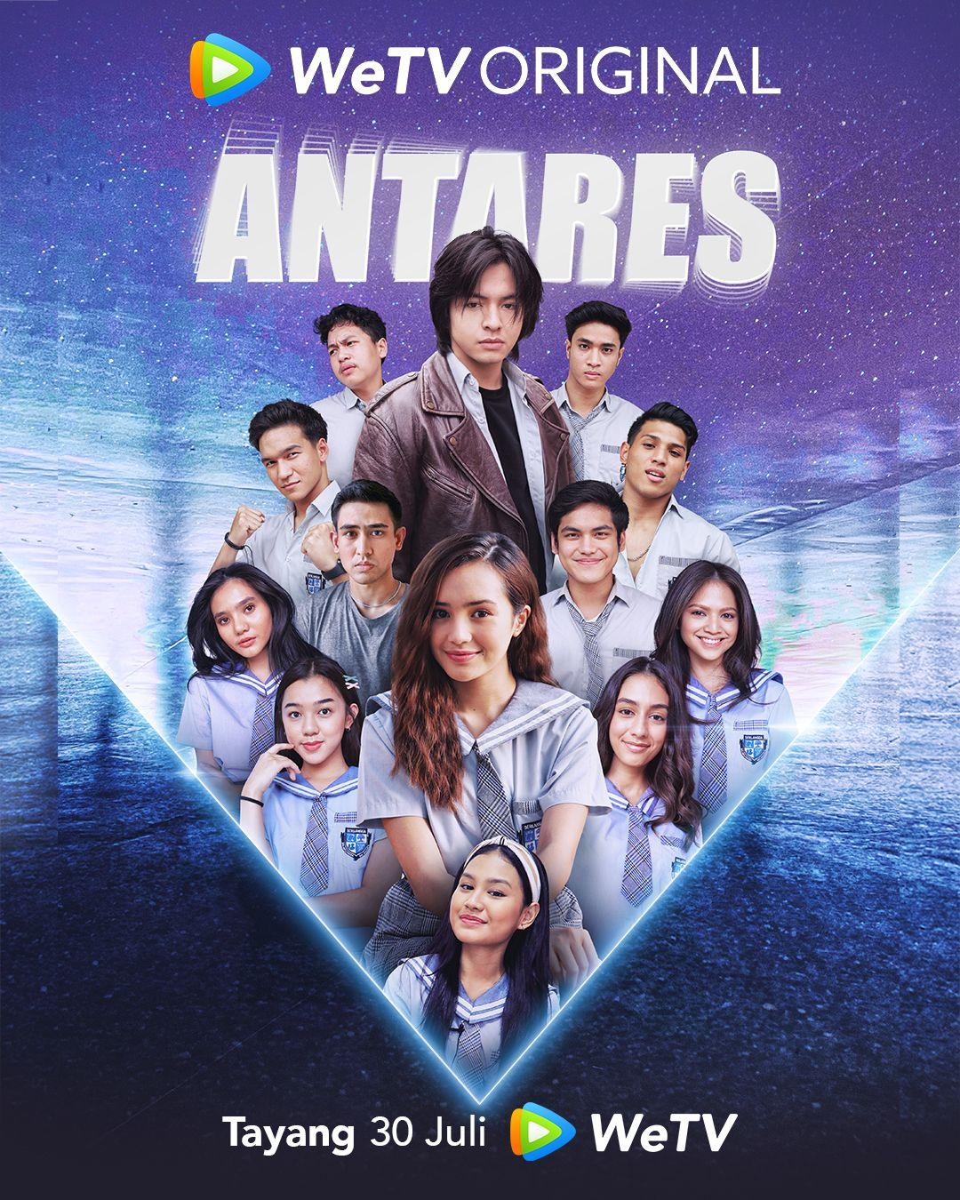 Angga Yunanda dan Cut Beby Tsabina dipasangkan di serial Antares.