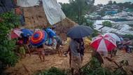 Longsor Terjang Pengungsian Warga Rohingya di Bangladesh, 6 Orang Tewas