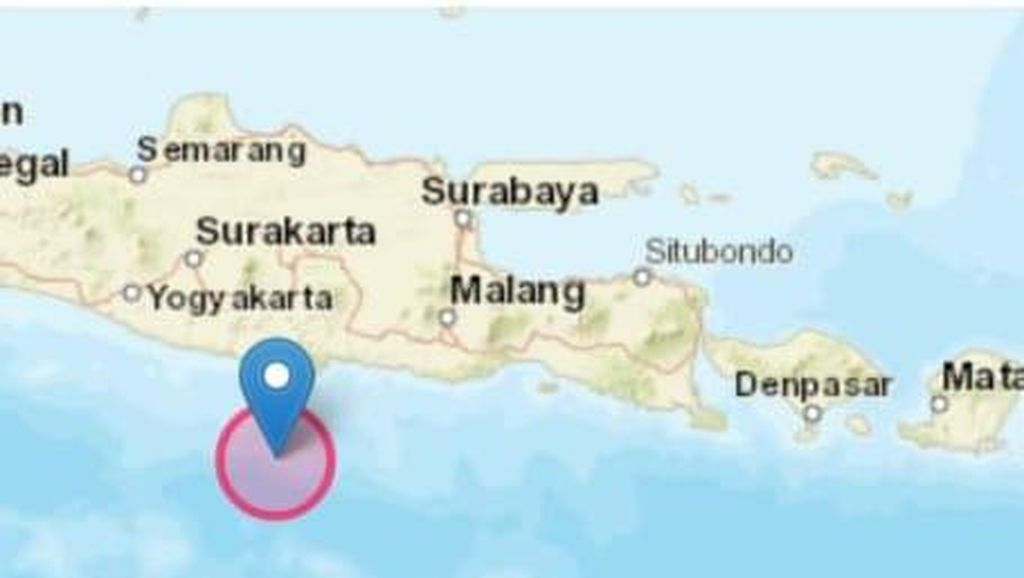 Guncangan Gempa M 5,2 Berpusat di Pacitan Dirasakan Warga Ponorogo