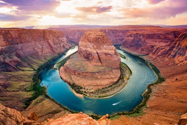 Amerika Serikat punya beberapa tempat yang jadi favorit, di peringkat ketujuh ada Taman Nasional Grand Canyon. (Getty Images/ansonmiao)