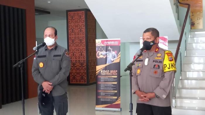 Kapolda Sulteng  Irjen Abdul Rakhman Baso Bersama Kepala BNPT Komjen Boy Rafli