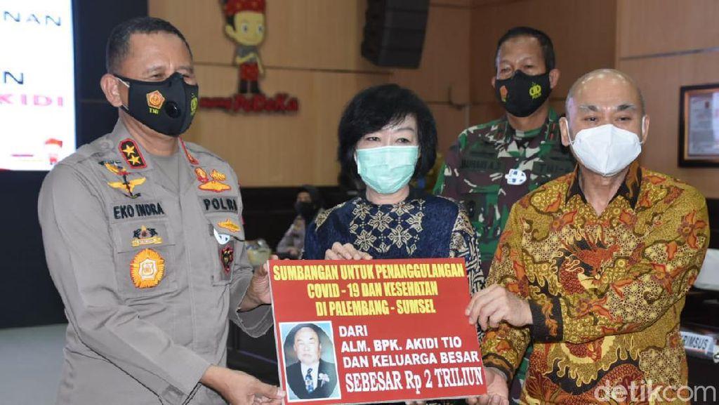 Pembelaan dan Kritik untuk Kapolda Sumsel soal Donasi Bodong Akidi Tio