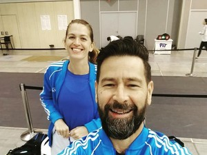 Momen Bahagia Atlet Anggar Dilamar Pelatih Setelah Kalah di Olimpiade Tokyo