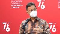 Menkes Klaim Puncak COVID-19 Terlewati, Tapi Meningkat di Luar Jawa-Bali
