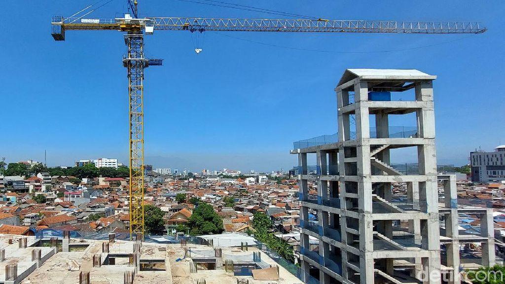 Penampakan Terkini Pembangunan Rumah Deret Tamansari Bandung