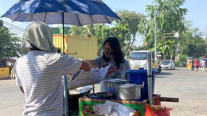 PKL di Pasar Senen bisa berjualan kembali