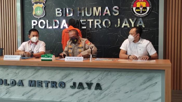 Polda Metro Jaya tangkap pelaku pemalsuan swab PCR, Selasa (27/7/2021).