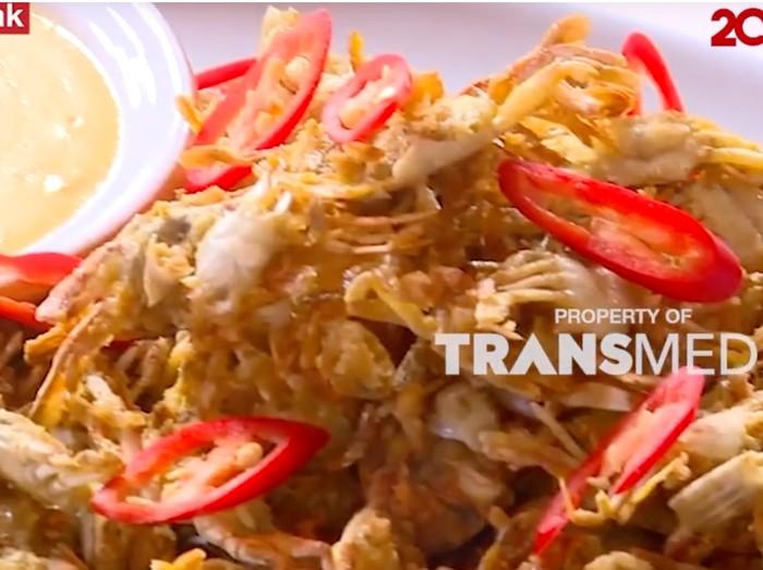 Resep Baby Crab Goreng Saus Telur Asin
