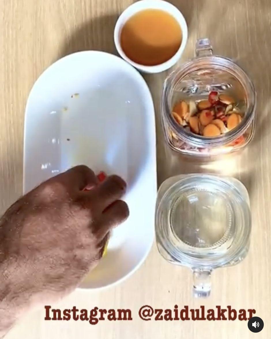 Resep Minuman Sehat Penyegar Sel Tubuh ala dr. Zaidul Akbar