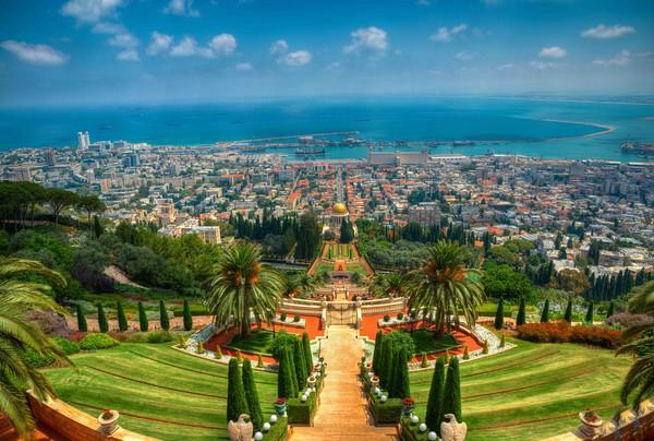 Di Israel, rumah ibadah Bahai bernama Taman Bahai Haifa.(Getty Images)
