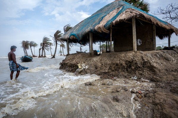Naiknya muka air laut karena pemanasan global menjadi penyebab utama. (Getty Images/iStockphoto)
