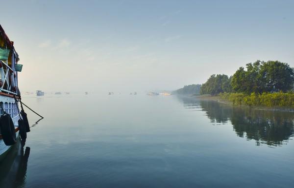 Namun sayang, keberadaannya kini mengkhawatirkan, pulau-pulau di taman nasional ini mulai tenggelam.(Getty Images/iStockphoto)