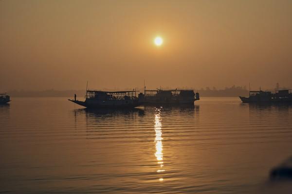 Kalau muara hutan mangrover terbesar dunia ini hilang, Kota Kolkata India akan menjadi sasaran berikutnya. (Getty Images/iStockphoto)
