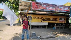 Ketuk Hati Jokowi, Tempat Wisata di Mojokerto Kibarkan Bendera Putih