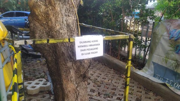 Teralis hotel isoman di Jakbar ditutup.