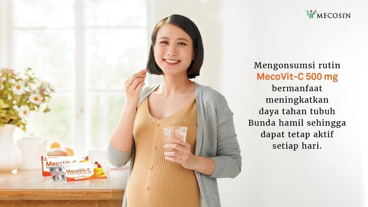 Tingkatkan daya tahan tubuh ibu hamil di masa pandemi.